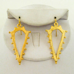 Studded Spear Earrings