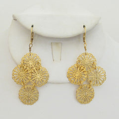 Gold Filigree Earrings