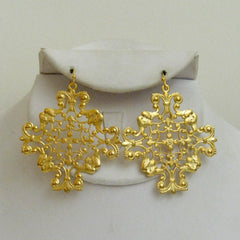 Royal Filigree Earrings