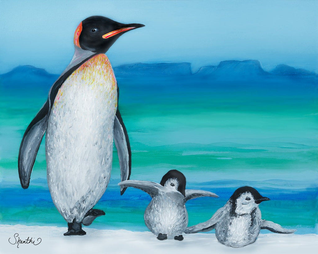 penguin classic gifts, penguin painting for kids, penguin feet, penguin gift ideas, shopping penguin, penguin online shopping, nursery penguin,