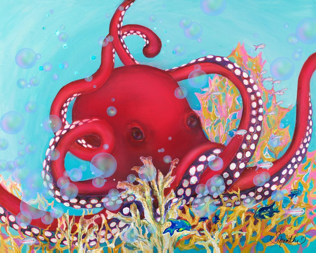 underwater animals, sea creatures, sea animals, pacific red octopus, octopus, ocean animals, cool octopus