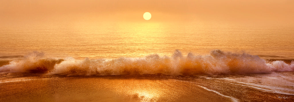 golden sunrise photography, sunrise wall art, yellow art prints