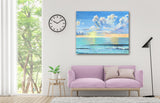 morning sunrise, beautiful sunrise, beach decor