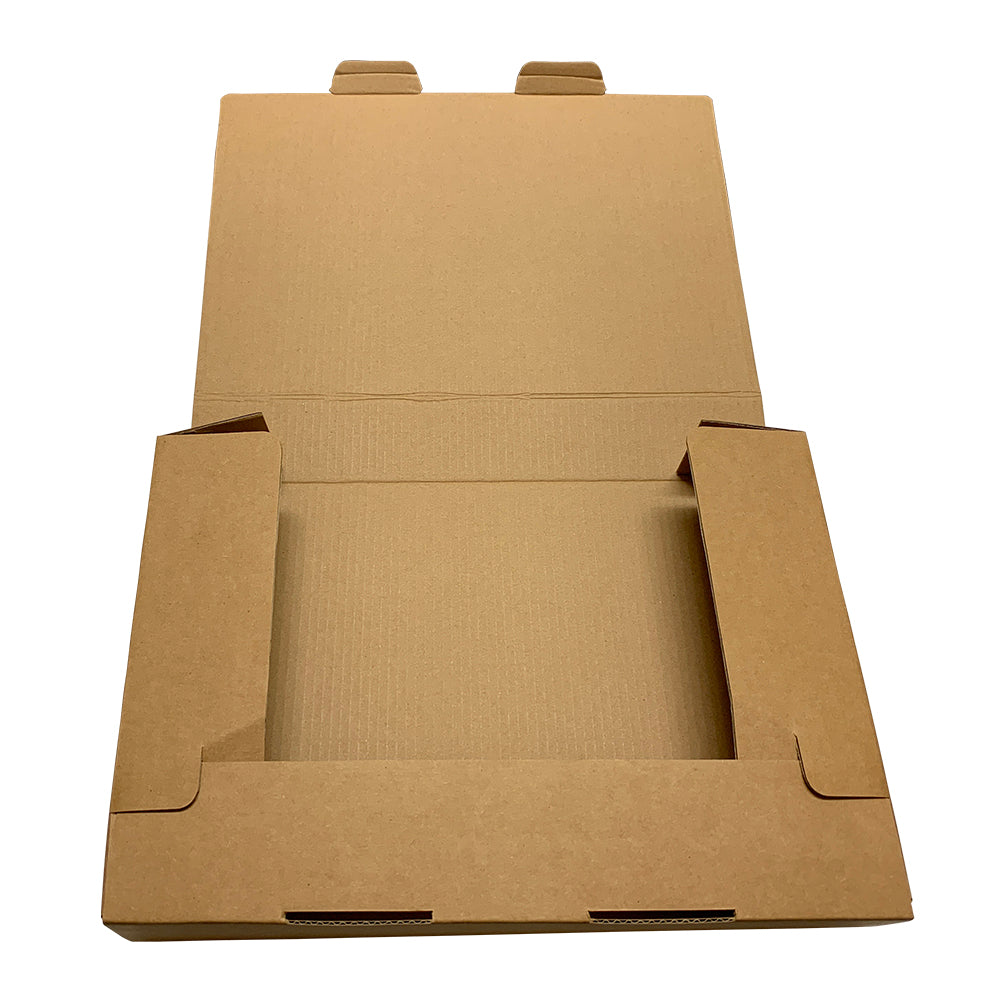 Pack of 3 A4 Kraft Box Files 5cm Depth