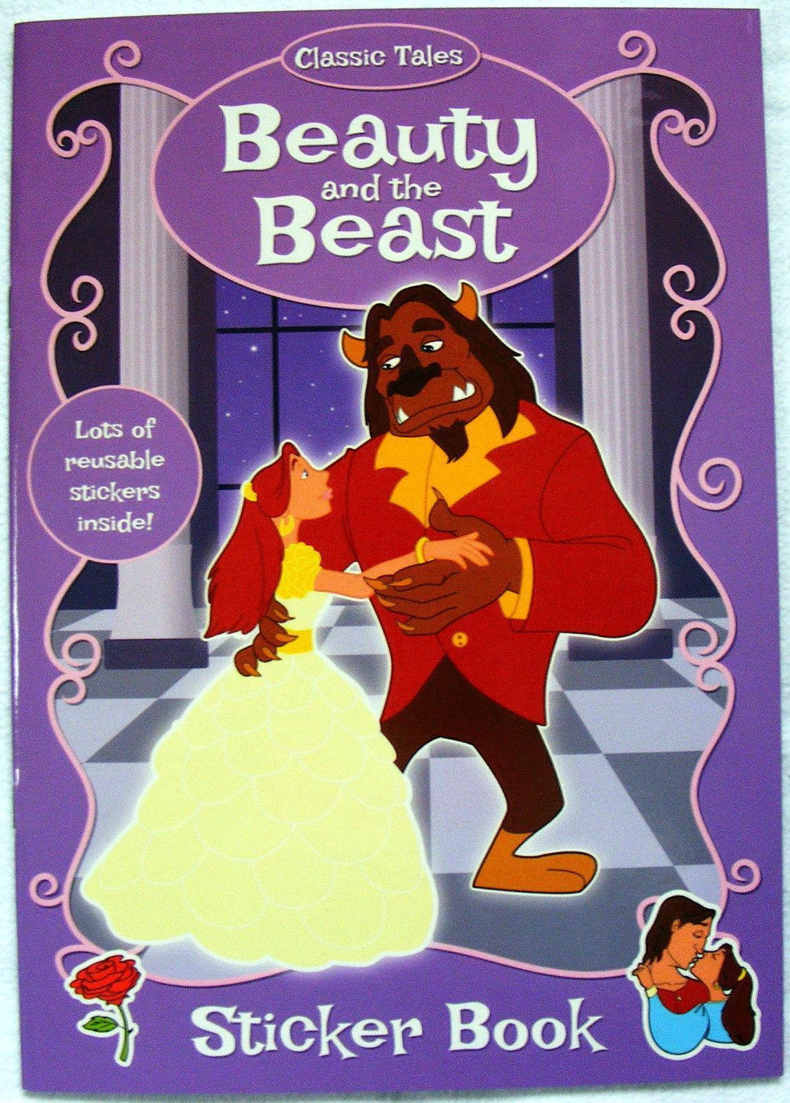 Beauty and the Beast Fairy Tale Children Sticker Book