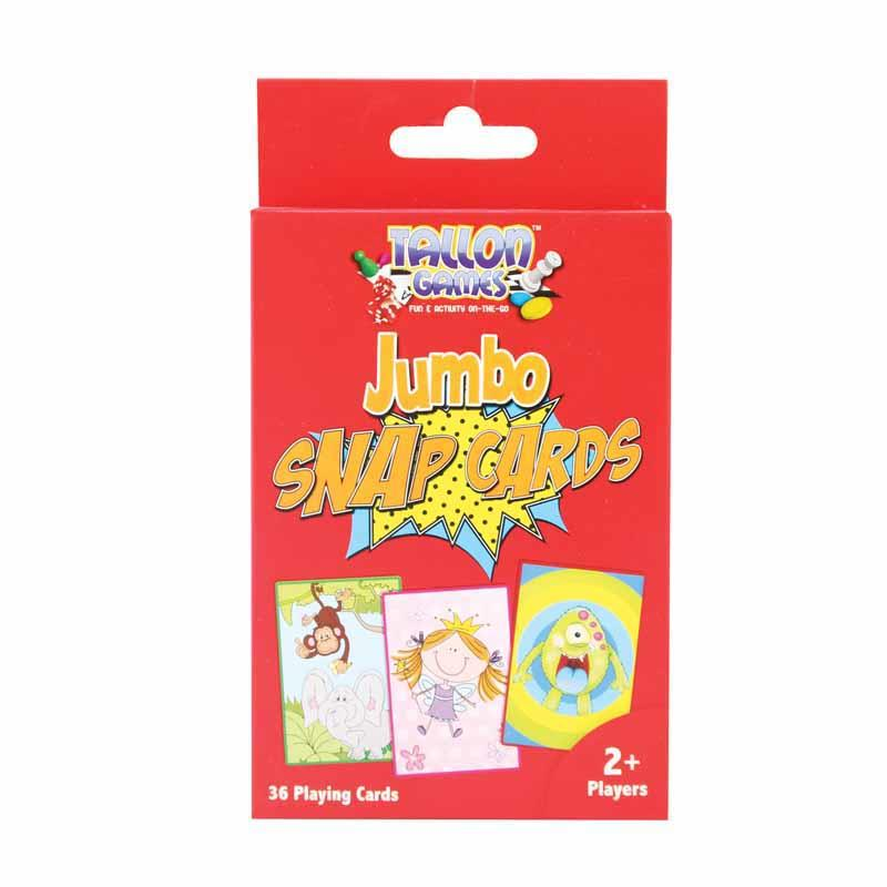 Pack of 36 Jumbo Snap Playing Cards
