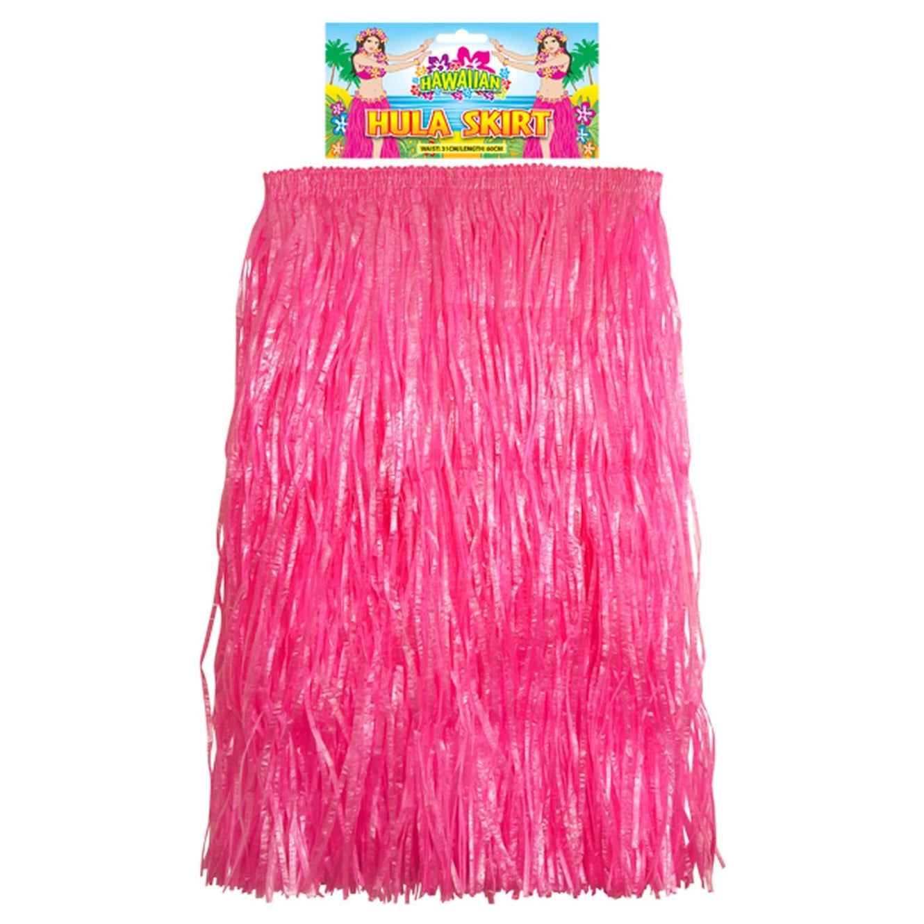 Hot Pink Hula Skirt (31cm x 60cm)