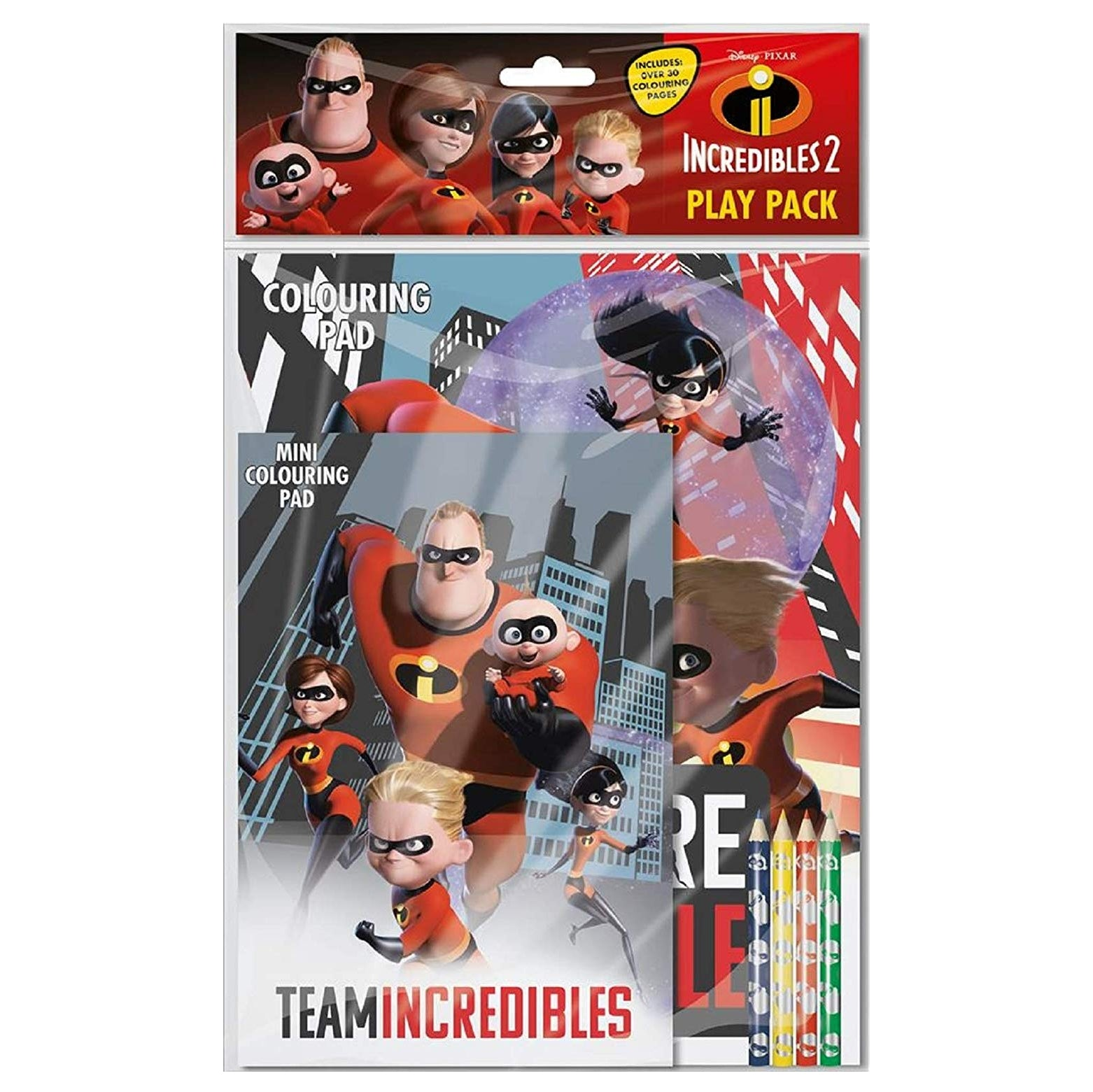Incredibles 2 Play Pack