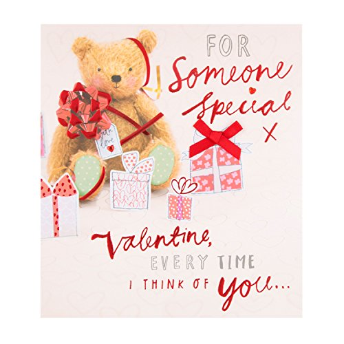 Hallmark Someone Special Valentine's Day Card 'Warm Fuzzles' - Medium