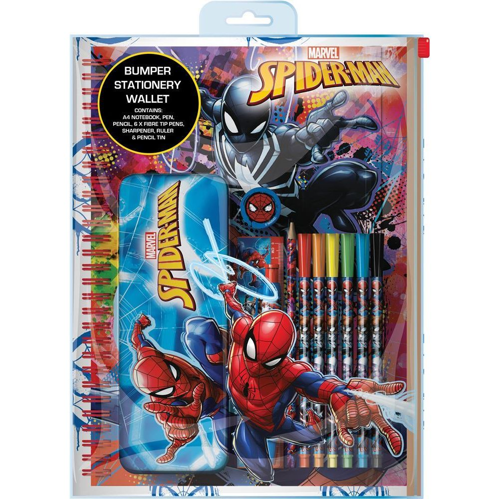 Spiderman Bumper Stationery Wallet
