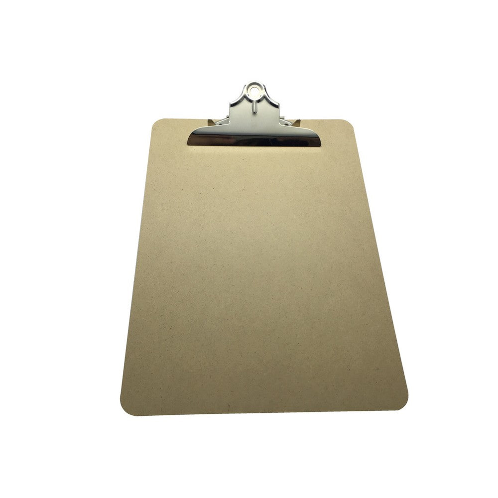 Janrax A4 MDF Clipboard with Butterfly Clip