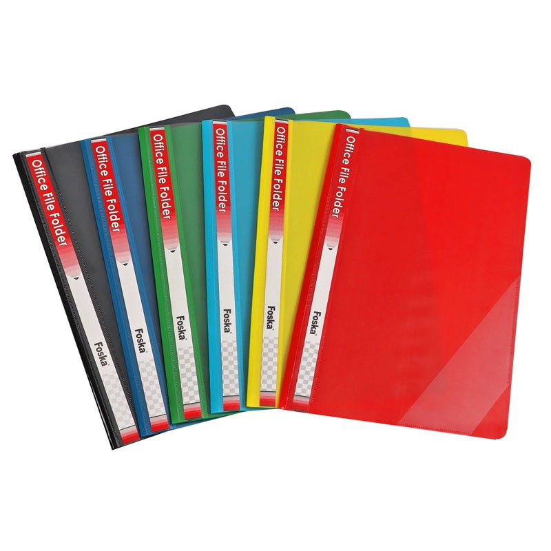 Pack of 12 Blue Project File Folders