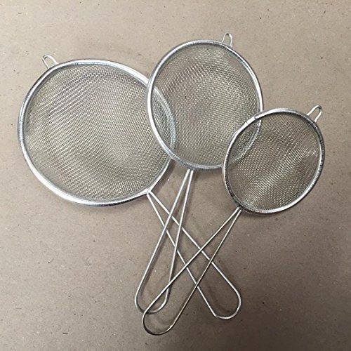 Pack of 3 Strainers