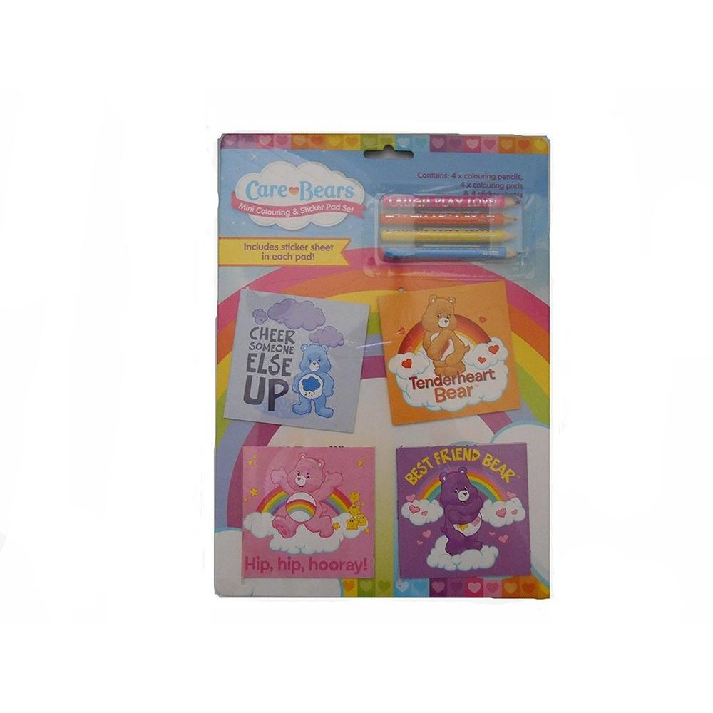 Care Bears Mini Colouring Pad Set