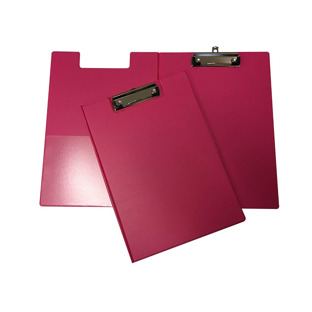 Janrax A4 Pink Foldover Clipboard