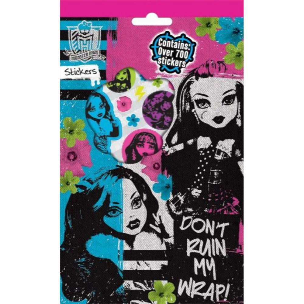 Monster High 700 Stickers