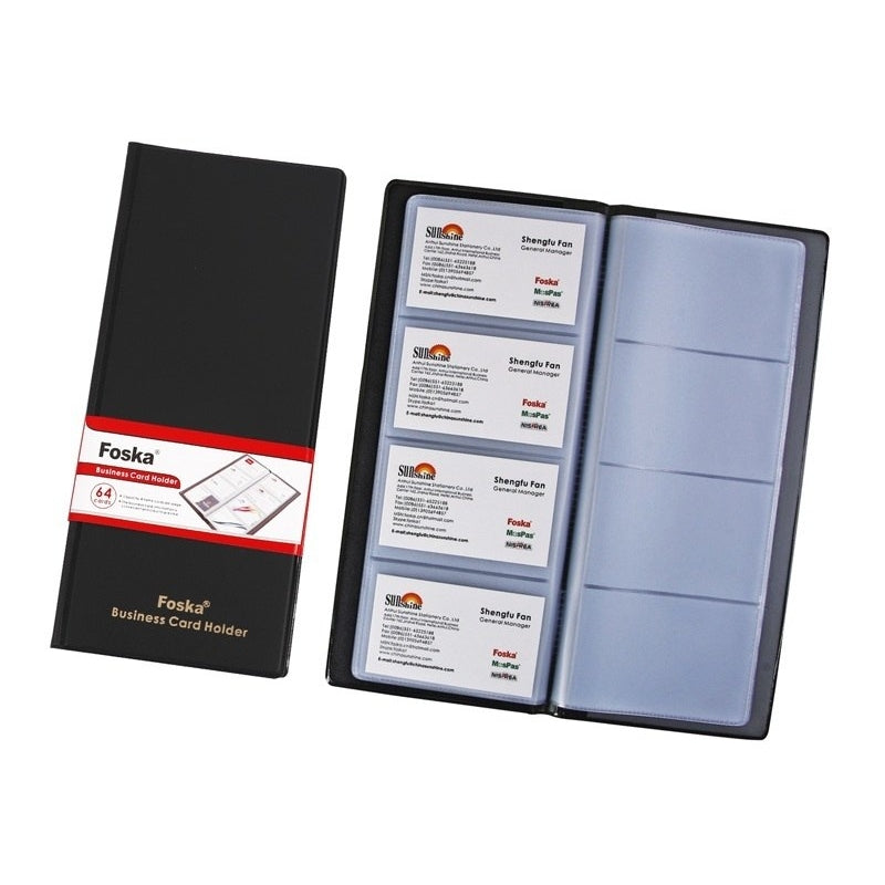 Business Card Holder - 64 Cards