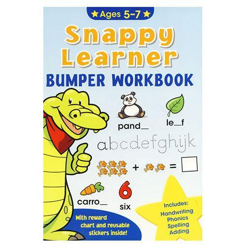 Snappy Learner Bumper Work Book Ages 5-7