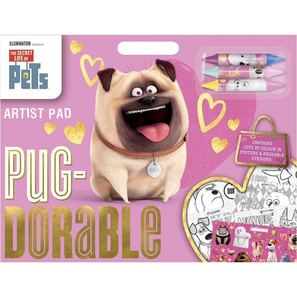 The Secret Life Of Pets Artist Pad