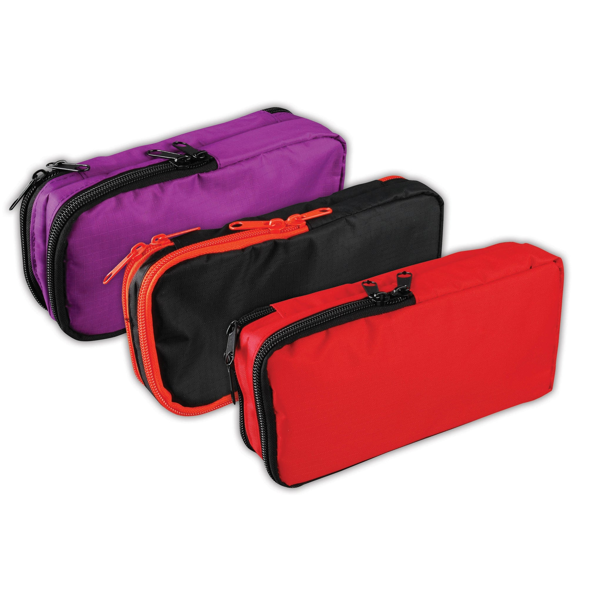 Large Flat Rectangular Pencil Case