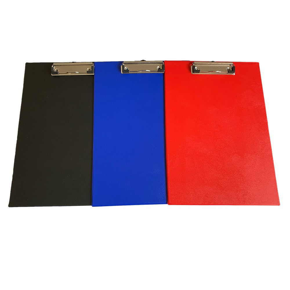 Janrax A4 Red PVC Single Clipboard