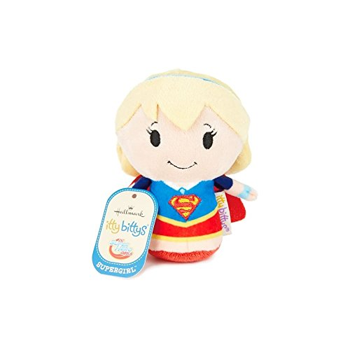 Hallmark 25483872 Super Girl Itty Bitty Soft Toy