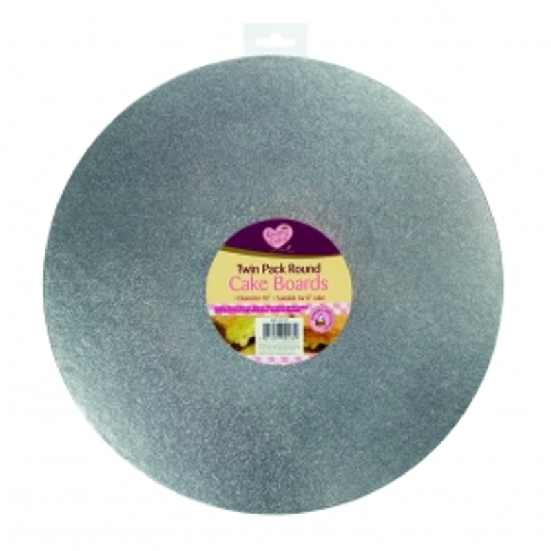Twin Pack Round Cake Boards