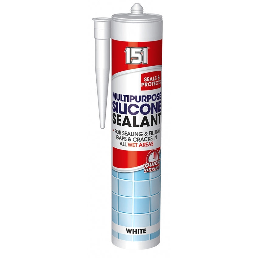 Multipurpose Silicon Sealant - White