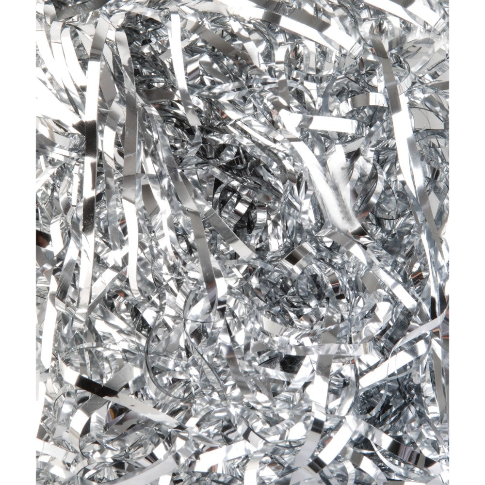 28g Silver Metallic Shred