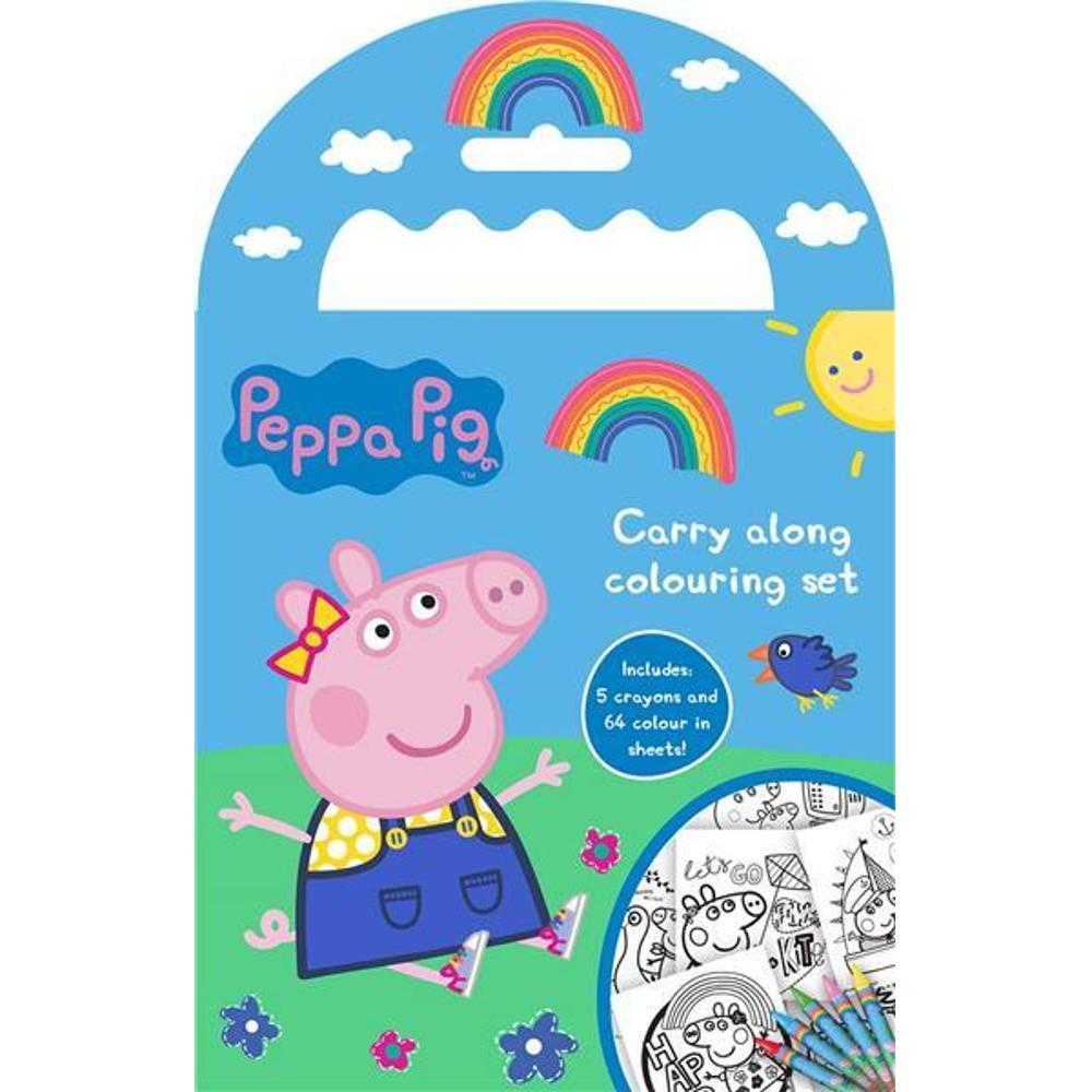 Pepper Pig Carry Along Colouring Set