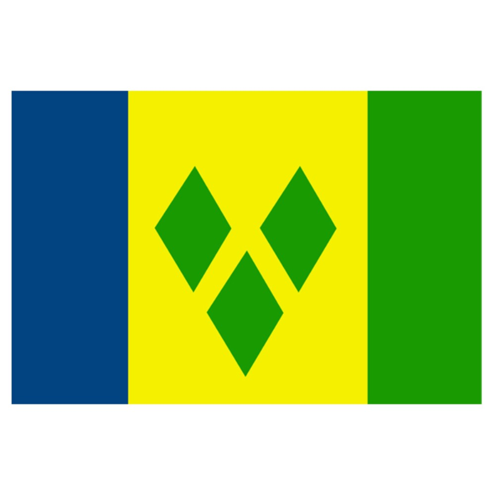 St Vincent/grenadines Flag 5ft X 3ft