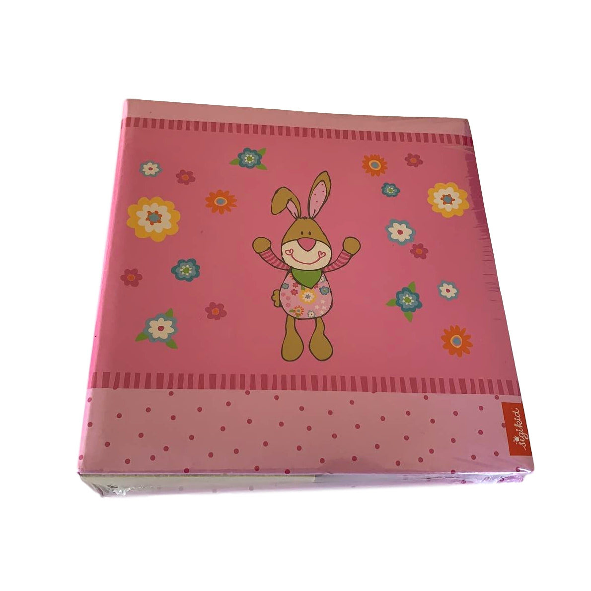 Bungee Bunny Pink Memo Album with CD Pocket