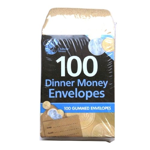 Dinner Money Envelopes (100 Pack)