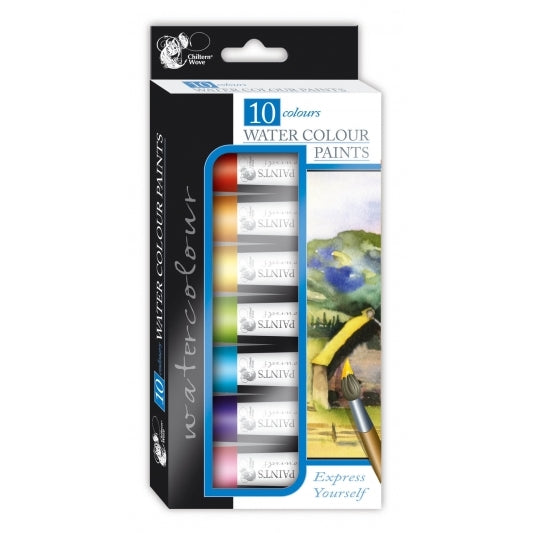 Water Colours Paints (10 Pack)