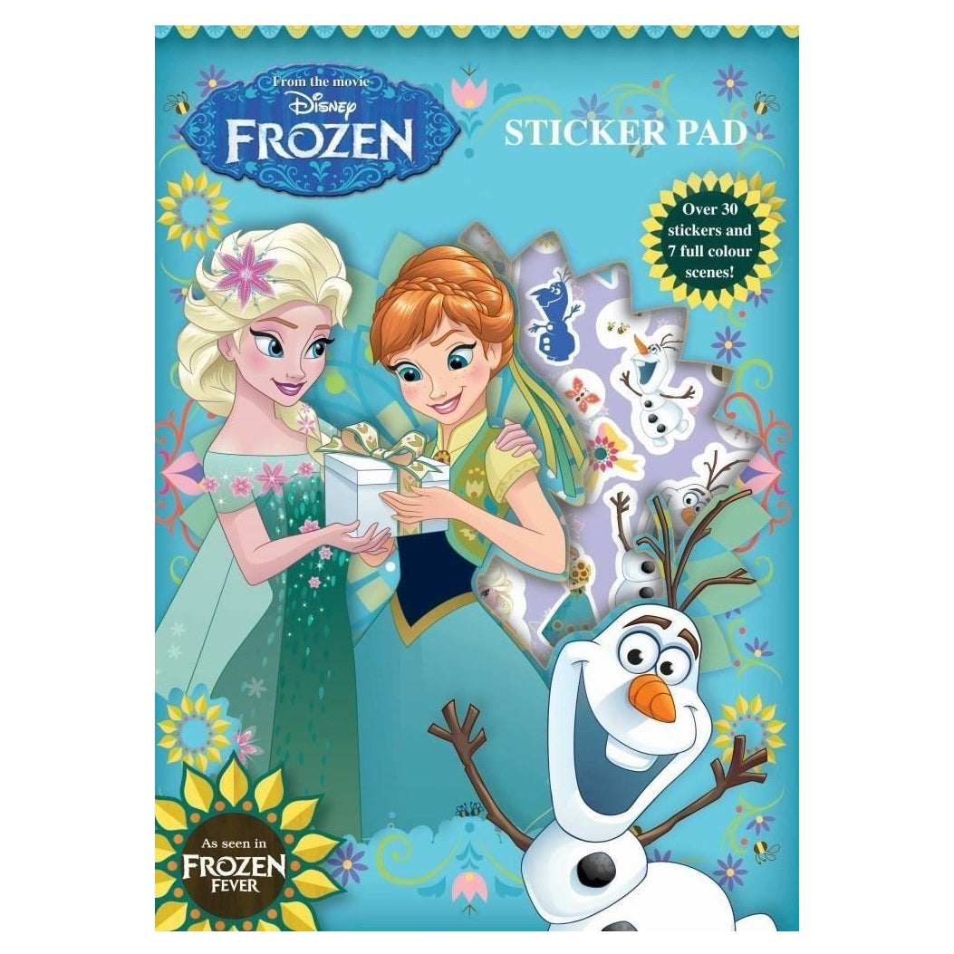 Disney Frozen Fever Sticker Pad