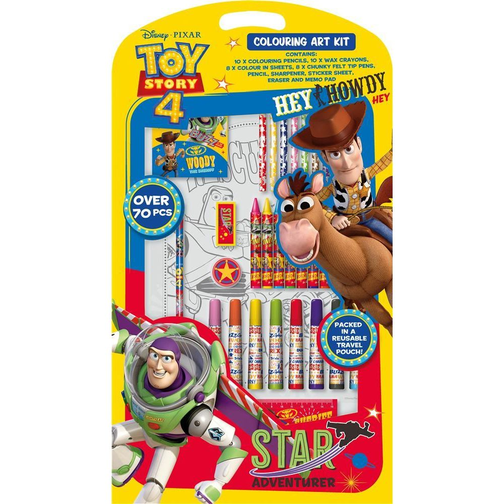 Toy Story 4 Colouring Art Kit