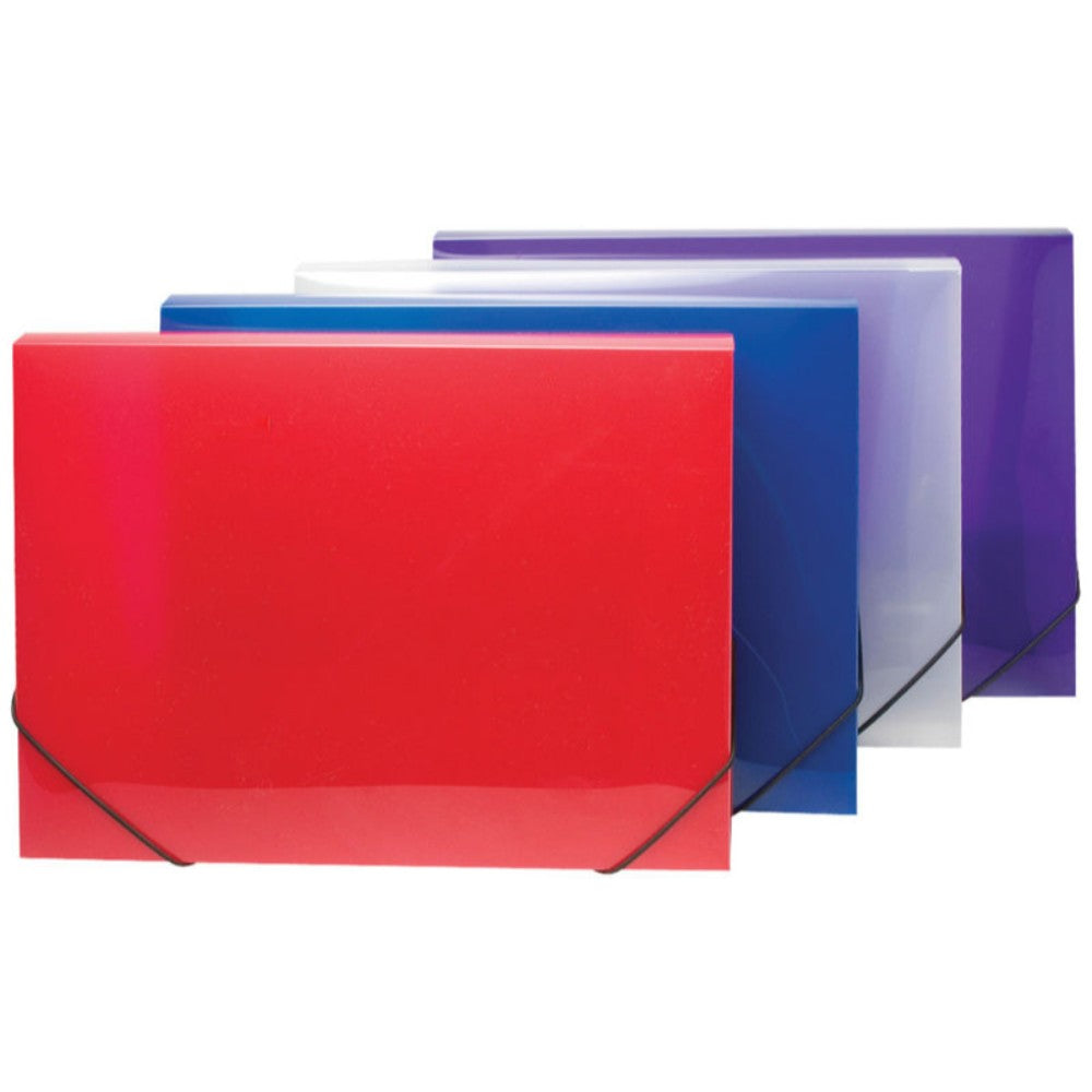 A4 Box Files Clearview Colours 30mm