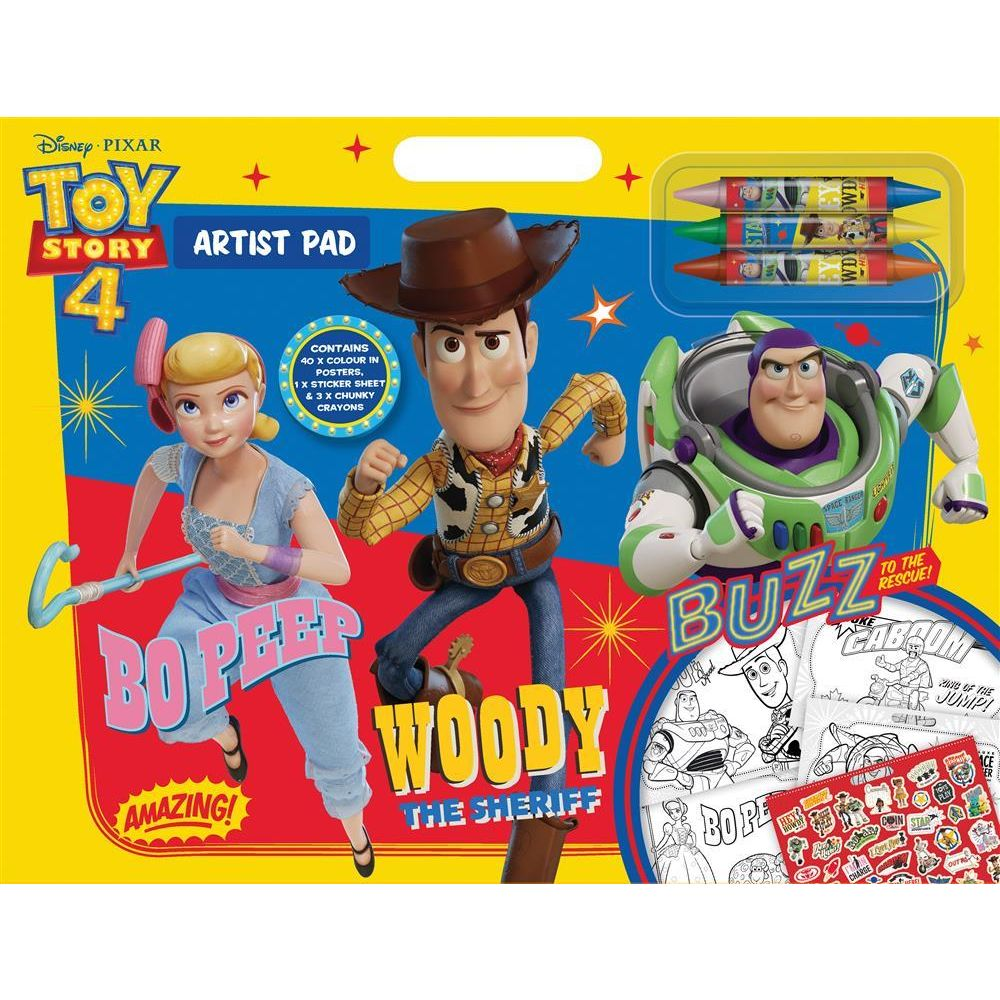 Toy Story 4 Artist Pad