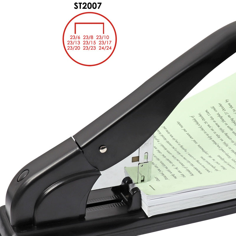 Metal Heavy Duty Desk Stapler - 200 Sheet Capacity
