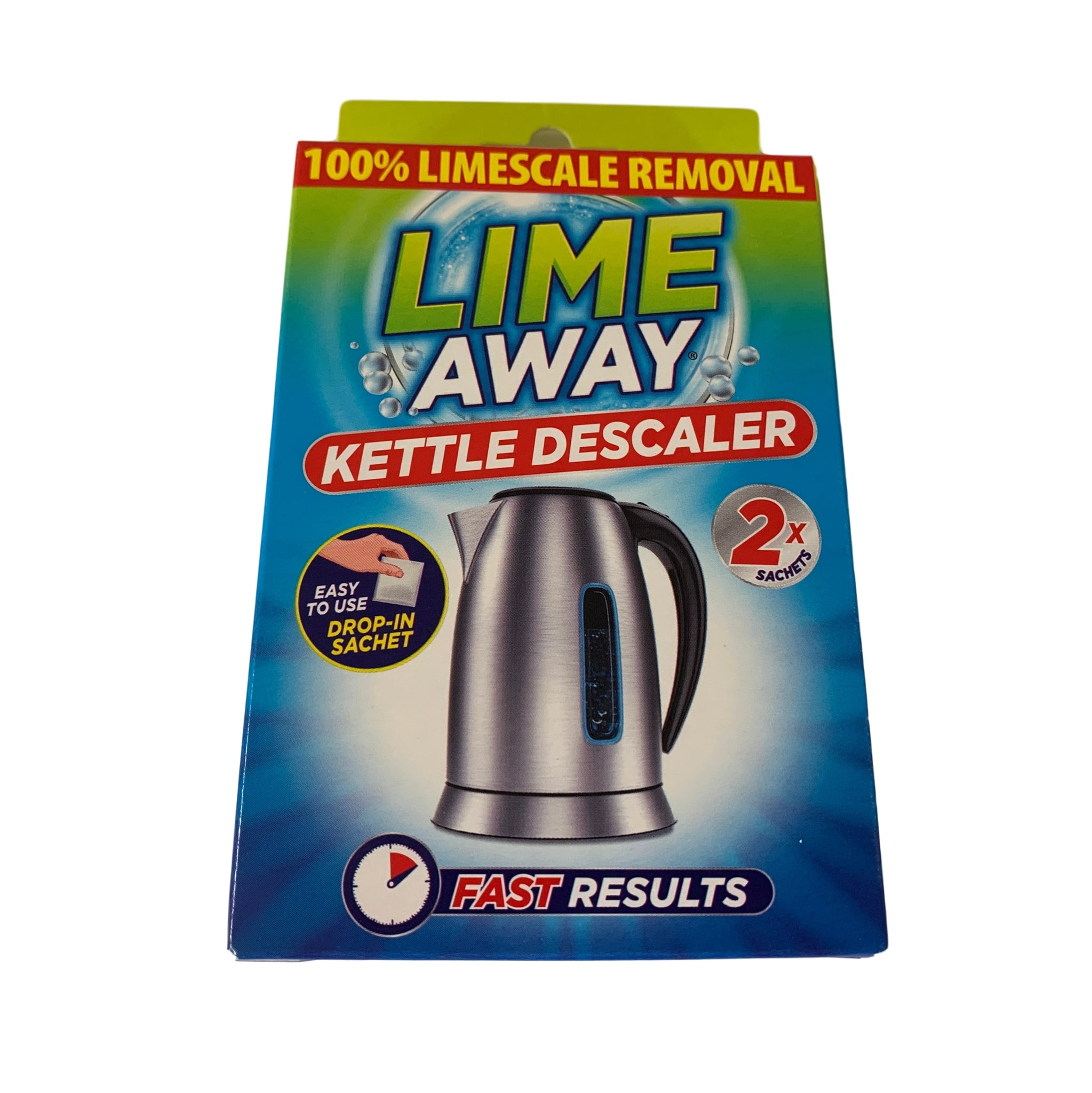 Pack of 2 Lime Away Kettle Descaler