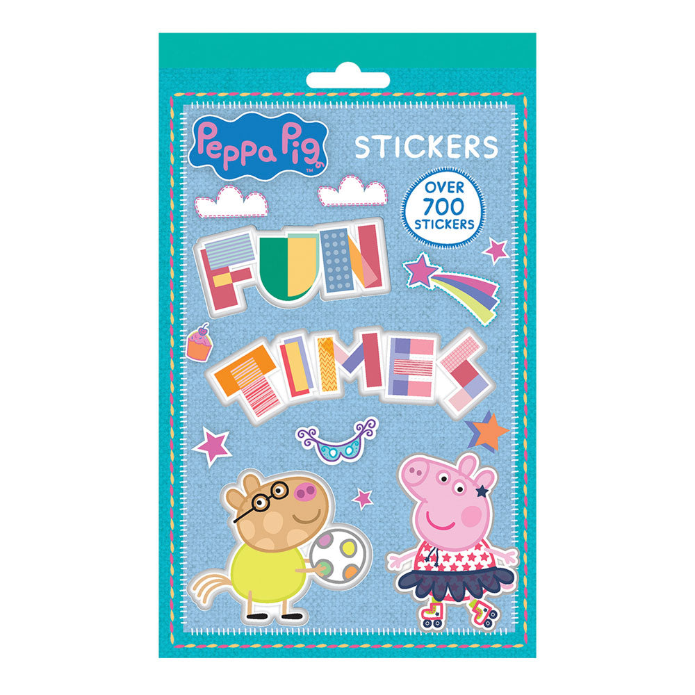 Peppa Pig Over 700 Stickers Booklet