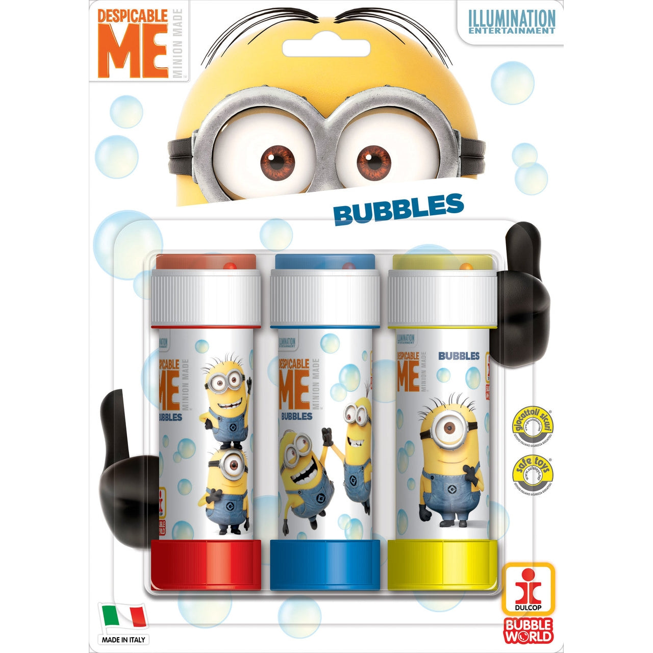 Pack of 3 Minions Bubble Tubs 60ml