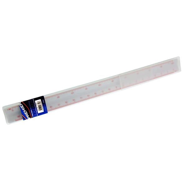 30cm Triangular Scale Ruler In Case by Premier Universal