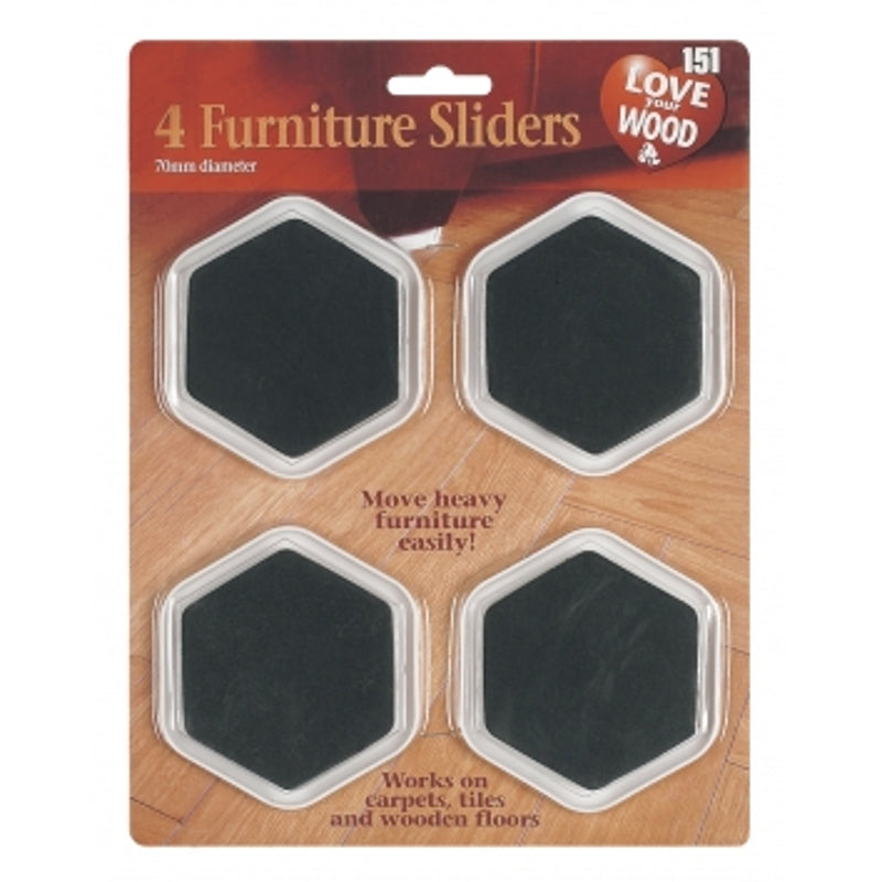Furniture Sliders (4 Pack)