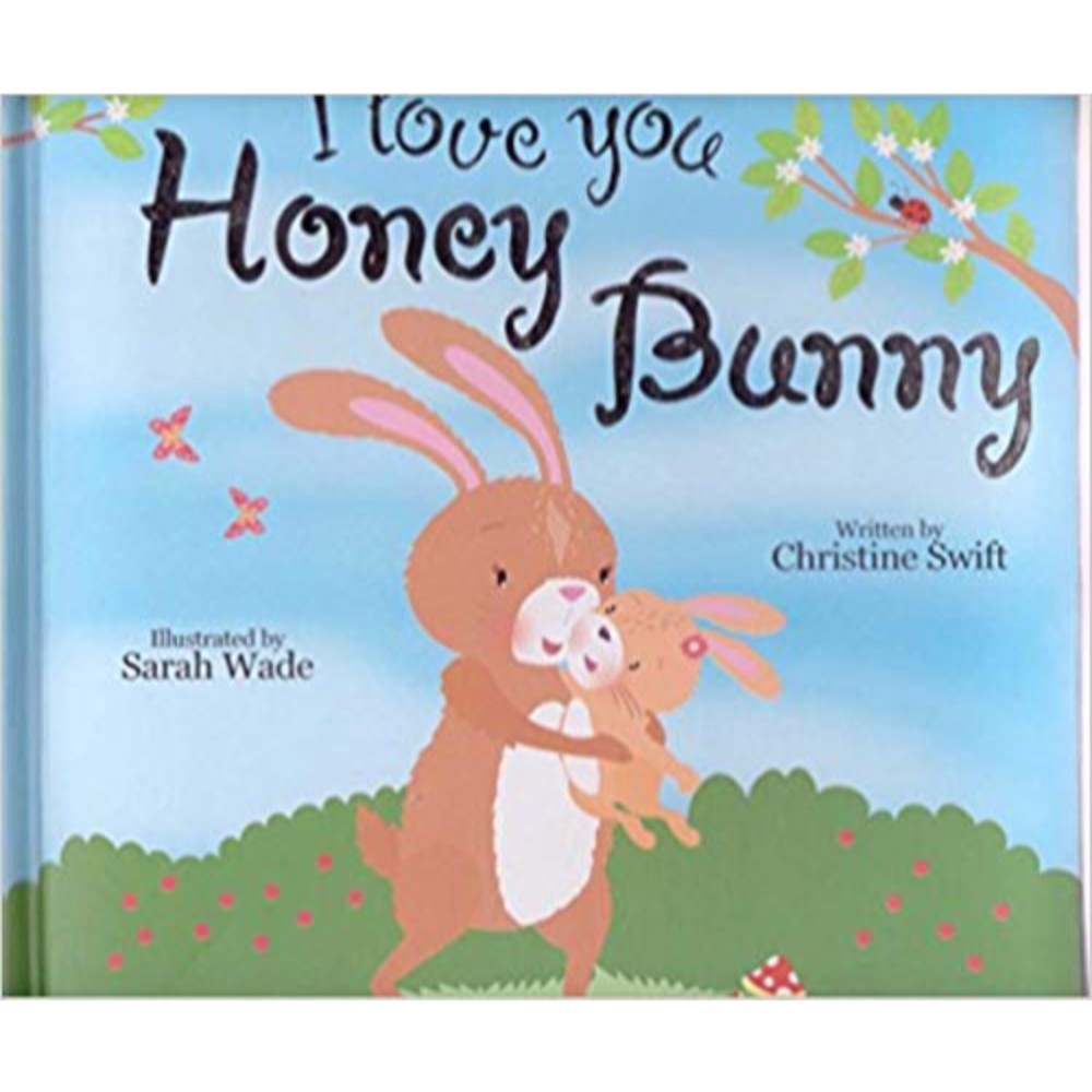 Padded Books - I Love You Honey bunny
