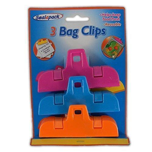 Bag Clip (3 Pack)