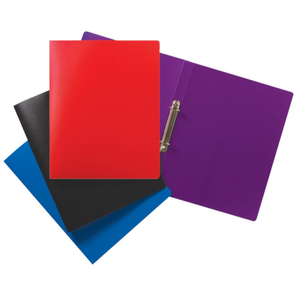A4 Slim Solid Colour Ring Binder