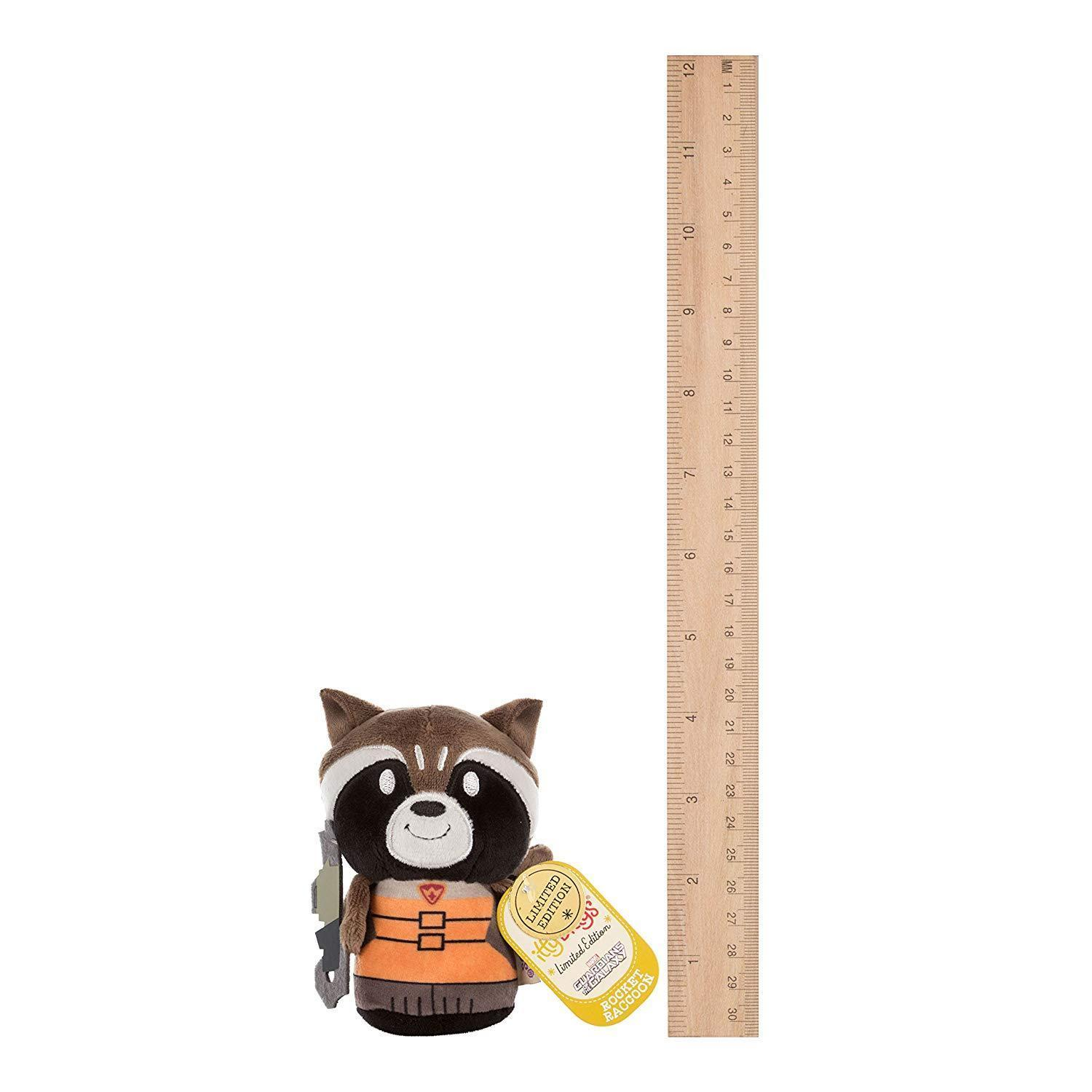 Hallmark 25483867 Guardians of The Galaxy Rocket Raccoon Itty Bitty Soft Toy