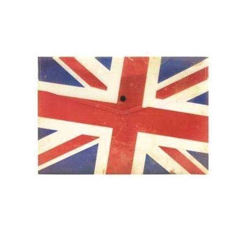 Pack of 20 A4 Union Jack Document Wallet Folders