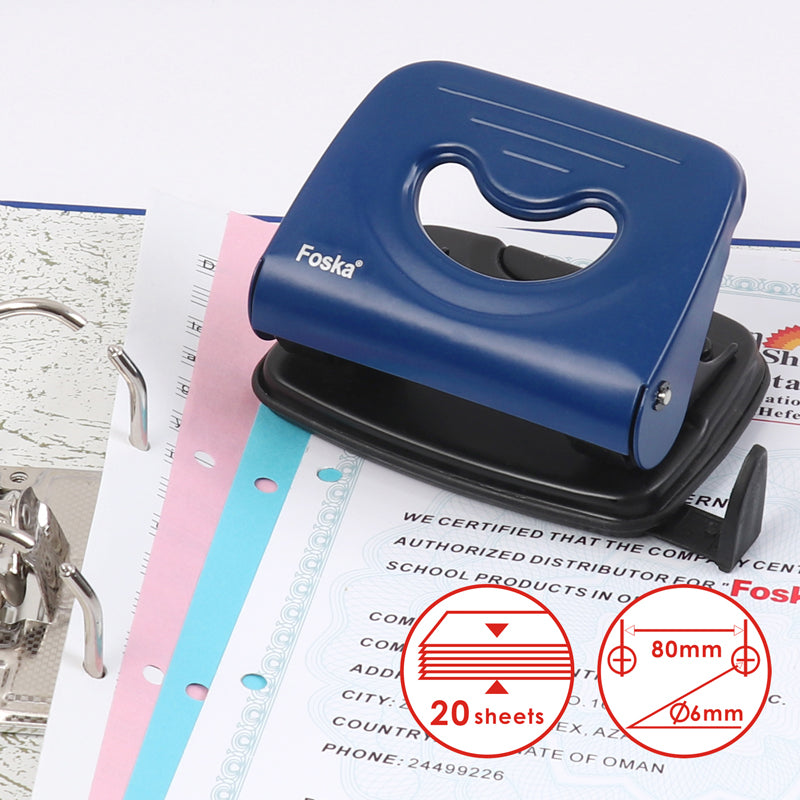 Metal Hole Punch with Measuring Guide 431002